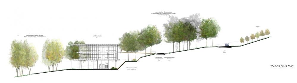 Extension du campus quiksilver saint jean de luz 64 for Espace vert lotissement